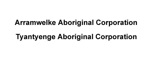 Arramwelke Aboriginal Corporation / Tyantyenge Aboriginal Corporation